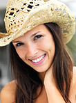 Cute cowgirl