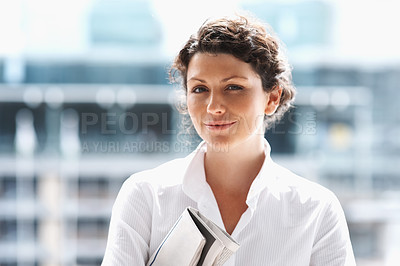 Buy stock photo Portrait of a successful  middle aged business woman