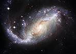 View of Barred Spiral Galaxy NGC 1672