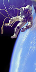 Performing the first spacewalk in history