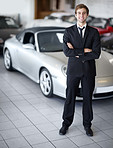He's the perfect car salesman