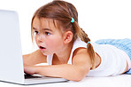 Cyberspace is a big place for a little girl!