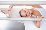 Building flexibility of the barre
