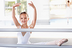 Every ballerina uses the barre
