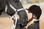 A strong bond between horse and rider