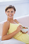 Healthy diet for her baby's benefit