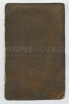 Buy stock photo An old book lying closed