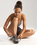 The right shoes are essential to effective training