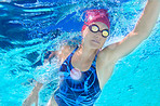 Swimming to a personal best