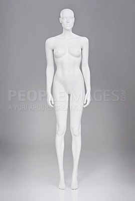 Buy stock photo Shot of a clothing mannequin