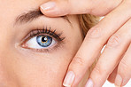 Avoid crow's feet by keeping your eyes moisturized!