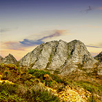 Scenic mountains of South Africa