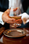 A fine cognac is worth savouring