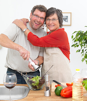We love spending quality time preparing quality food!
