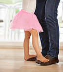 I love dancing with daddy