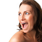 Surprise - A very surprised woman