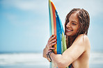 Board, we're going to rip up those waves!