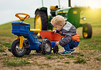 Nothing teaches self sufficiency like growing up on a farm