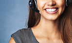 Telephonic support with a smile