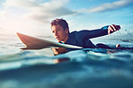 Surfing inspires independence