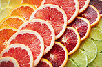 Slices of citrus delight