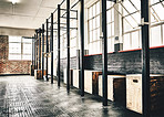 Lots of space to workout in