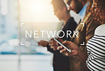 Networking is defined as a function of business