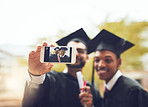 Celebrate graduation day with a selfie