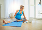 Finding workout tutorials for pregnant moms