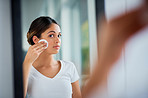 Caring for her vibrantly soft skin