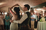 The first dance goes to you two