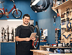 I run my bicycle repair shop on wireless technology