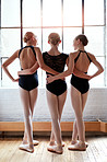 Friendships formed in ballet class are forever
