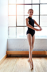 Practice makes perfect in ballet