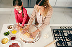 The joys of teaching your child how to cook