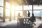 With successful businesses, there is a corporate team behind it all