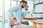 Sitting for long periods of time can strain your body