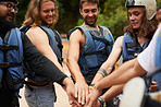 The ever lasting river rafting team