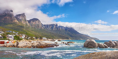 Buy stock photo Shot of Cape Town