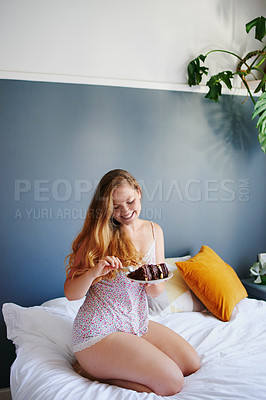 Buy stock photo Shot of a beautiful young woman