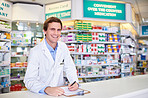 Operating a well-organized pharmacy