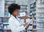 She's been managing her pharmacy the wireless way
