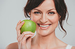Apples help me to maintain flawless looking skin