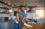 Sharing the housework leaves more time for love