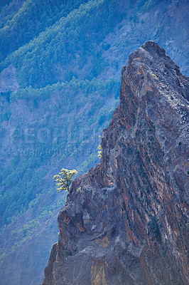 Buy stock photo Volcano area -  Roque de los Muchachos, La Palma, Spain