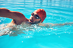 His breaststroke is the best stroke