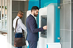 ATMs are the modern convenience on just about every street corner