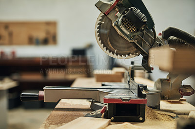 Buy stock photo Shot of machinery in a workshop