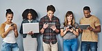 Today's youth are accustomed to the digital way of life