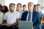 Undivided attention is what you want in an audience